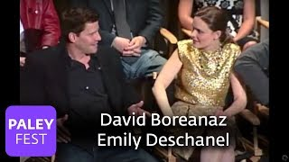 Bones - Boreanaz and Deschanel Spar over Kids
