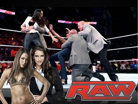 Wwe Raw Review 7 28 14: #jailbird + Stephanie Mcmahon & Brie Bella Collide! video