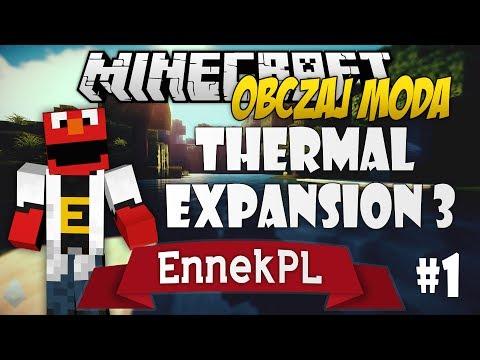 Minecraft - Obczaj Moda: Thermal Expansion 3 - (1/2)