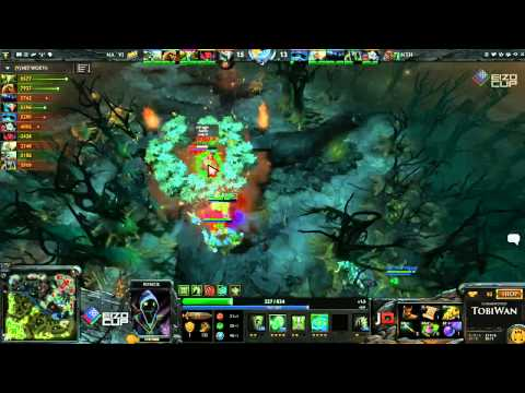 Na'Vi vs No Tidehunter Game 2 - EIZO DOTA2 Cup - TobiWan