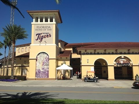 Detroit Tigers Spring Training in Lakeland