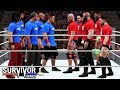 WWE 2K18 Survivor Series 2017 - Team RAW vs Team Smackdown 5 on 5 Survivor Series Elimination Match!