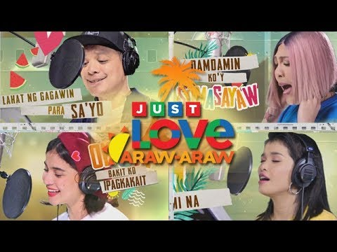 ABS-CBN Summer Station ID 2018 Just Love Araw-Araw Lyric Video