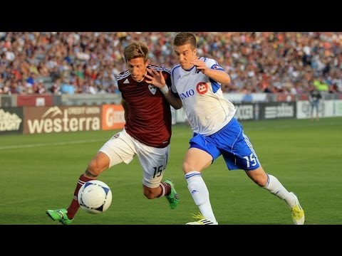 HIGHLIGHTS: Colorado Rapids vs Montreal Impact May 26, 2012