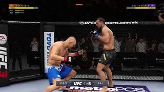 EA SPORTS™ UFC® 3 Chief hit a 29 sec KO