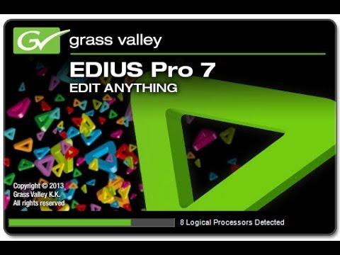 Descargar e Instalar el Mejor Programa para Editar Vídeos Edius PRO 7.3