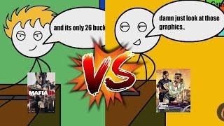 MAFIA III GAMERS VS GTA V GAMERS
