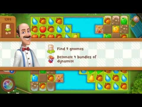 Gardenscapes level 1391
