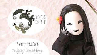 No Face - {Monster High Repaint} - Spirited Away STUDIO GHIBLI