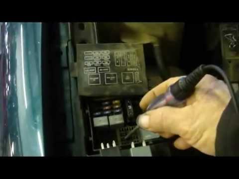 Electric Radiator Fan Diagnosis