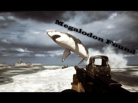 Battlefield 4 | Мегалодон найден! ( Megalodon Found! Easter Egg )