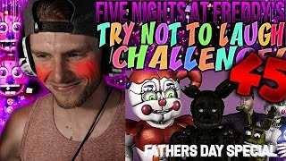 Vapor Reacts #658 | [FNAF SFM] FIVE NIGHTS AT FREDDY'S TRY NOT TO LAUGH CHALLENGE REACTION #45