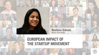 European Impact of the Startup Movement | Reshma Sohoni