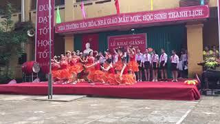 Hát múa Ngày Khai Trường 6A trường THCS Minh Phú 2018-2019