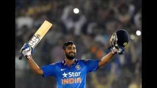 Ind vs SL 2014 2nd ODI:- Ambati Rayudu 121 unbeaten, Maiden ODI century