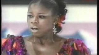 Surya Bonaly (FRA) - 1995 World Figure Skating Championships, Ladies' Free Skate