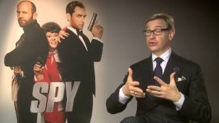 Spy | Paul Feig On Working With Miranda Hart | 2015