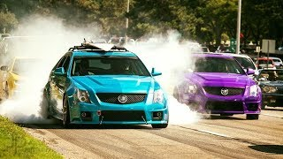 CTS-V Wagon VS Woodward Dream Cruise!