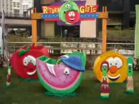 Veggie Tales Theme Party