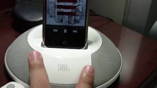 JBL On Stage II + iPhone