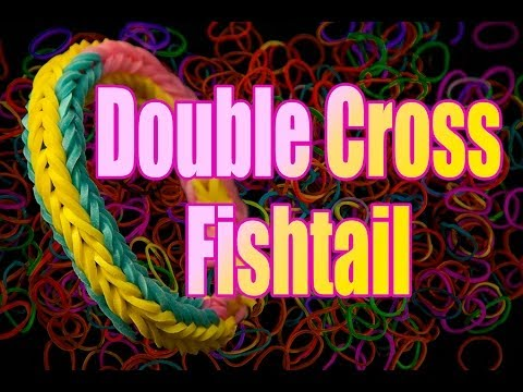 Fishtail Loom With Fingers Loom Double Cross Fishtail