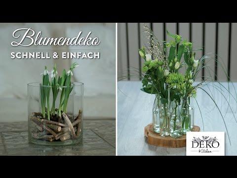 How To: Ausgefallene Blumendeko Für Den Frühling Schnell & Einfach | Deko Kitchen