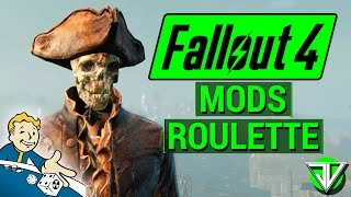 FALLOUT 4: UGLY Cait, SKELETON Companion, and Fallout CRIBS! (Mods Roulette #1)