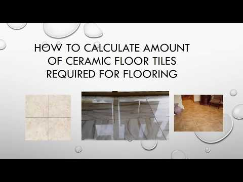 How to calculate how many tiles needed for floor