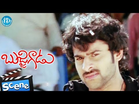 Bujjigadu Movie - Prabhas Best Fight Scene