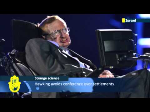 Israeli PM Benjamin Netanyahu condemns UK scientist Stephen Hawking for Israel boycott