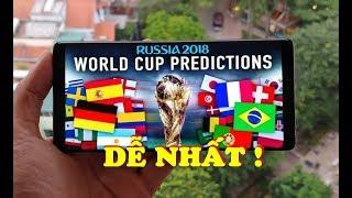 Cách NHANH NHẤT xem trực tiếp World Cup 2018 qua Smartphone và laptop