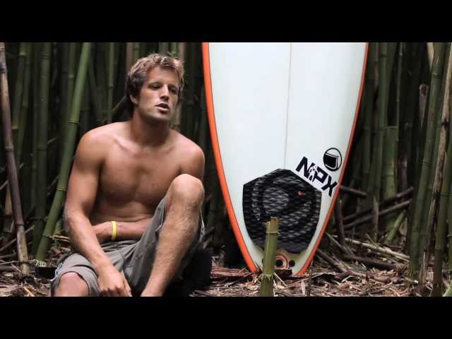 Imagine Surf team rider Julien Fillion