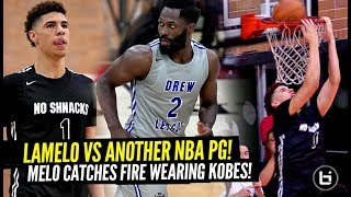 LaMelo Ball Hits THE DAGGER & BOWS To Crowd Wearing KOBES vs ANOTHER Former NBA PG! Drops 26!