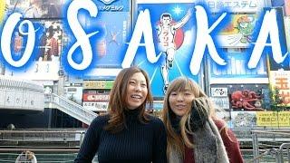 Osaka Food Guide In Dotonbori, Japan: Takoyaki Octopus Balls & Okonomiyaki | Japan Food Travel Guide