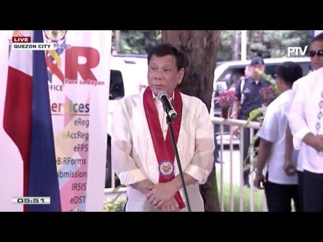 Duterte stands by Ozamiz City cops