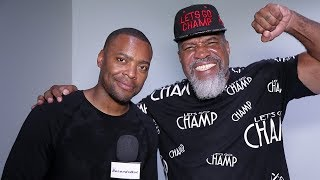 Shannon Briggs on  Logan Paul STRATEGY vs KSI