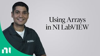 Using Arrays in NI LabVIEW