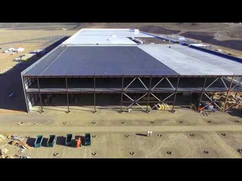 Tesla's Gigafactory in the Nevada Desert is finally nearing completion.