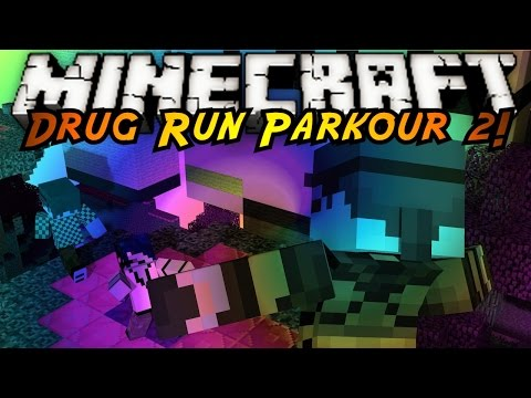 Minecraft Parkour : DRUG RUN 2!