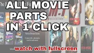 How to download movie series easy tips/Mission Impossible series download
