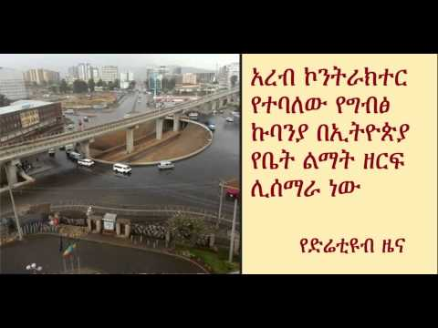 DireTube News - Arab Contractors to build new Residential City in Ethiopia at 2015-end