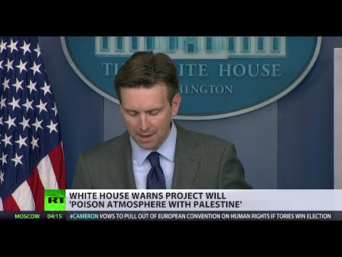White House issues warning to Israel over settlement expansion