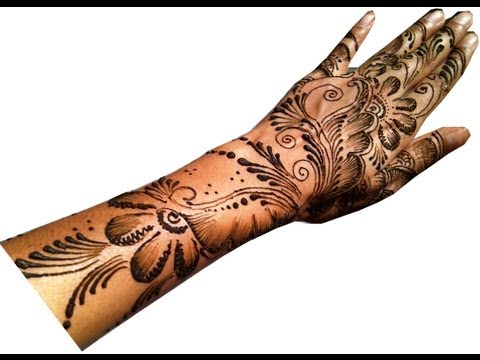 Quick Arabic Mehandi Design - 5 video