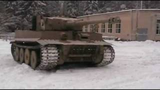 "Replica tank ""Tiger I"" in motion #3 (Full version)"