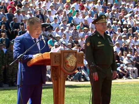 Герой России Сергей Шойгу первым удостоен звания Почетный гражданин Республики Тыва