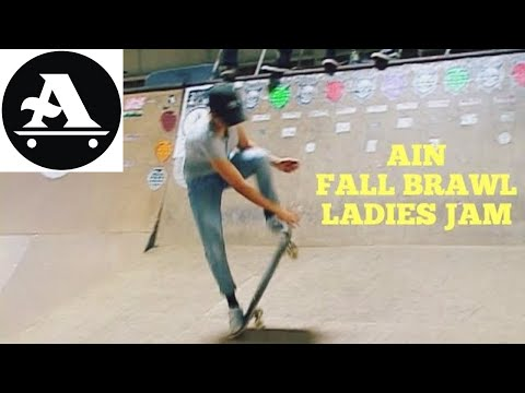 All I Need Skateboards FALL BRAWL Ladies Jam
