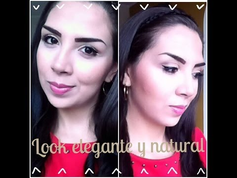 TUTORIAL: LOOK ELEGANTE y NATURAL Maquillaje   Alejandra Galindo
