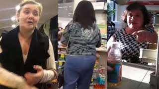 Craziest Customers Caught On Camera Causing Chaos #5