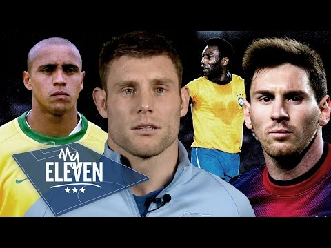James Milner picks his greatest ever team | Pele, Banks, Messi & Moore!