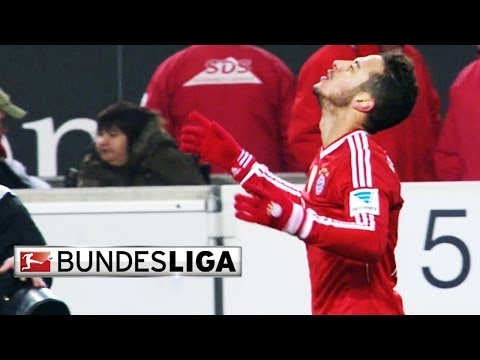 Bayern Munich's Thiago Alcantara Scores Wonder Goal in the Final Seconds vs Stuttgart